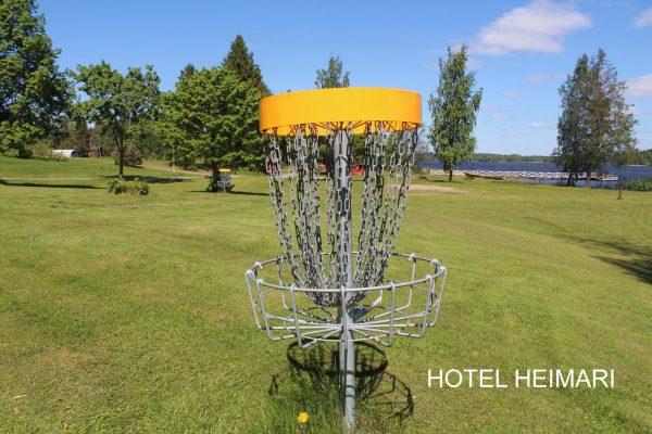 Valokuva frisbeegolf-korista